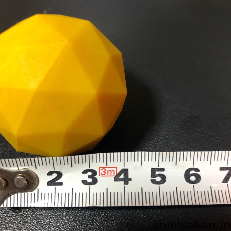 サイズは45mm程度
