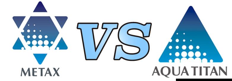 メタックスとアクアチタンを比較