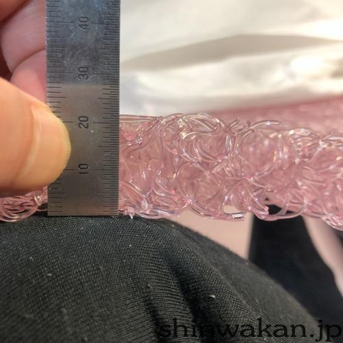 中材の厚さは2cm