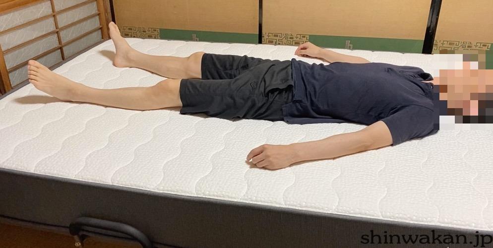 NELLマットレスの寝心地